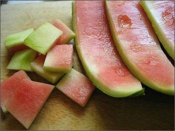 Vỏ dưa hấu giúp quá trình trao đổi chất tốt.