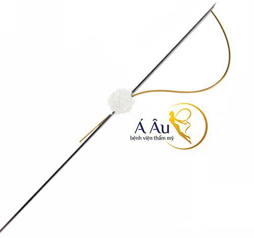 Chỉ vàng 24k được sử dụng tại Bệnh viện thẩm mỹ Á Âu đã được FDA chứng nhận.