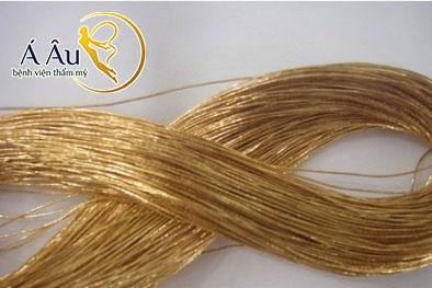 Chỉ vàng 24k được ứng dụng trong phương pháp này đã được FDA và CE chứng nhận và cấp phép.