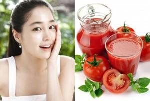 Cà chua là công thức dưỡng trắng da tuyệt vời cho phụ nữ sau sinh