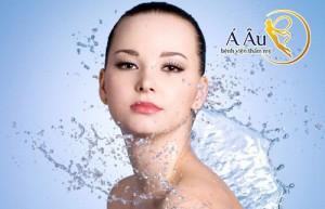 Rửa mặt đúng cách là biện pháp ngăn ngừa da mặt lão hóa theo thời gian