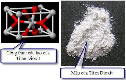 Titan dioxit làày để bôi trên diện rộng dài ngày, hoặc dùng ận.
