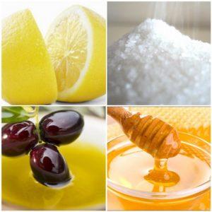 Làn da sẽ khỏe mạnh và trắng mịn tự nhiên nhờ hỗn hợp tẩy da chết từ mật ong và chanh.
