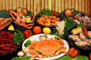 Ăn hải sản giúp căng da mặt